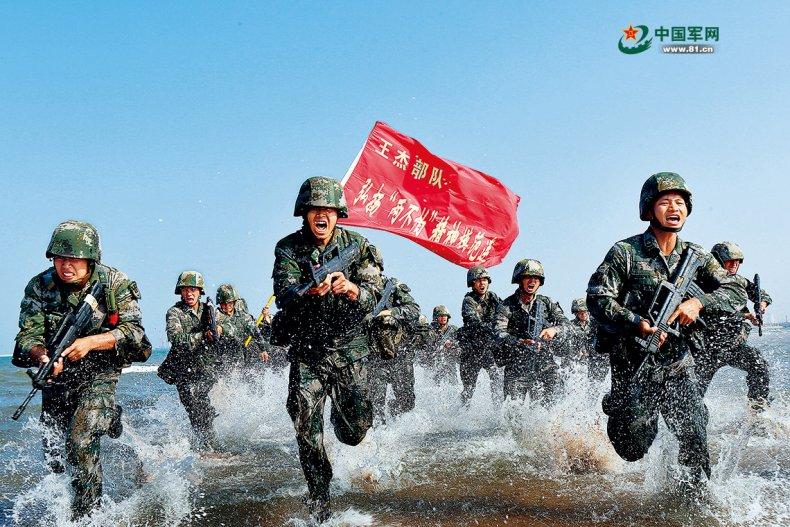 China, Peoples, Liberation, Army, training