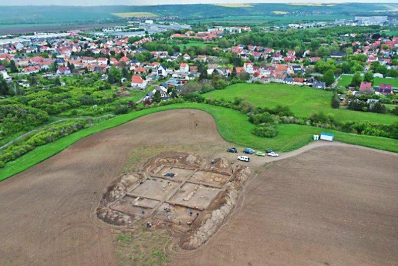 excavation area, Eisleben
