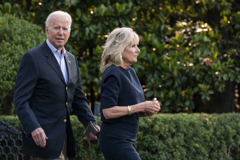 President Joe Biden and Wife Jill