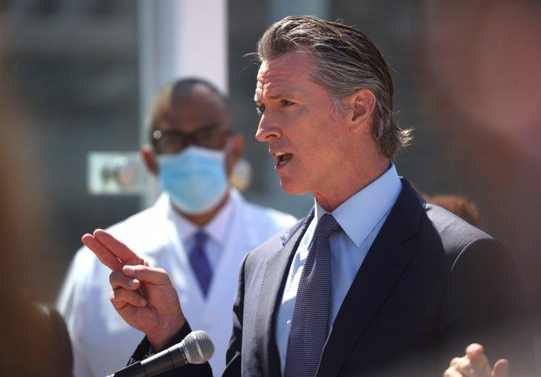 California Governor Gavin Newsom Recall Election Date