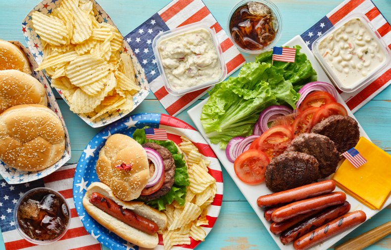 july 4 cookout 16 cents tweet gif