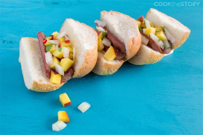 Christine Pittman's hot dog sliders