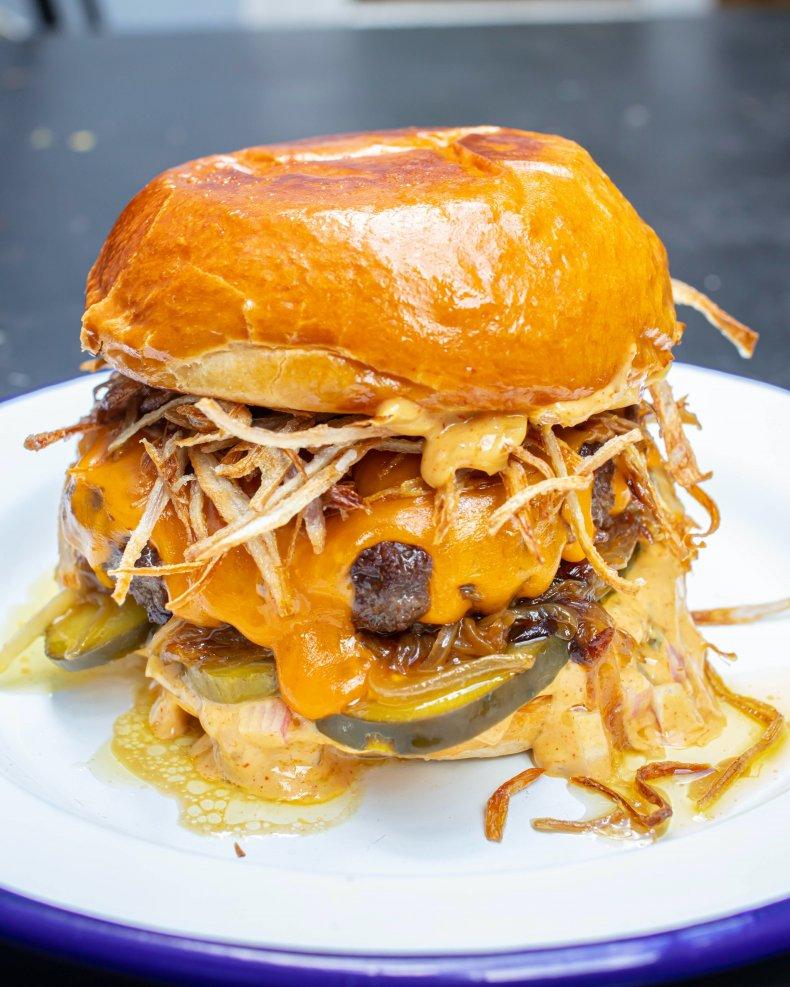 MOB Kitchen's ultimate cheeseburger