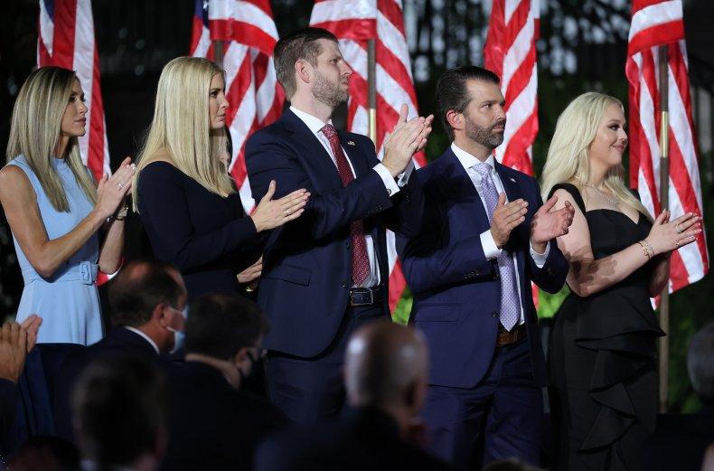 Trumps at Virtual 2020 National Convention