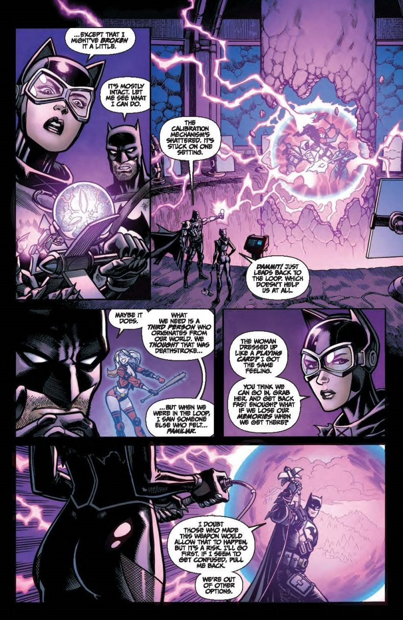 Batman and Catwoman Discuss the Zero Point