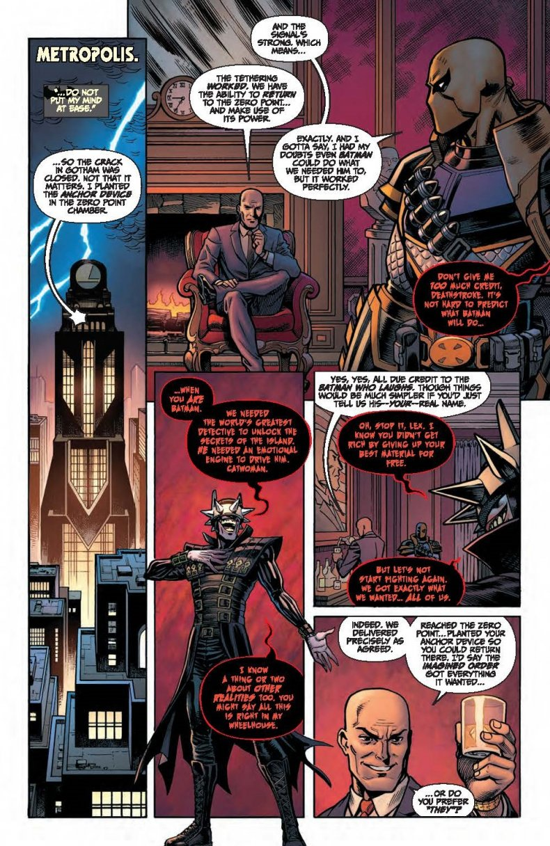 The  Dc Villains Scheme With Doctor Slone