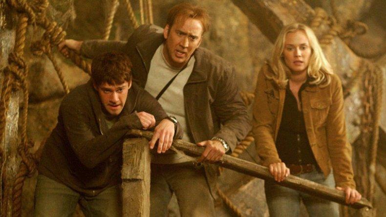 Nicolas Cage in National Treasure