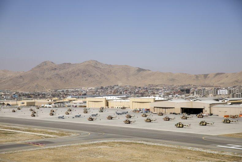 Kabul Airport in Afghanistan