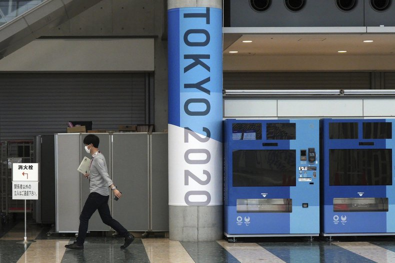 Japan Considers No Spectators for Olympics