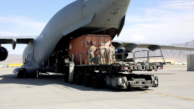 US, forces, leave, Bagram, Air, Field, Afghanistan