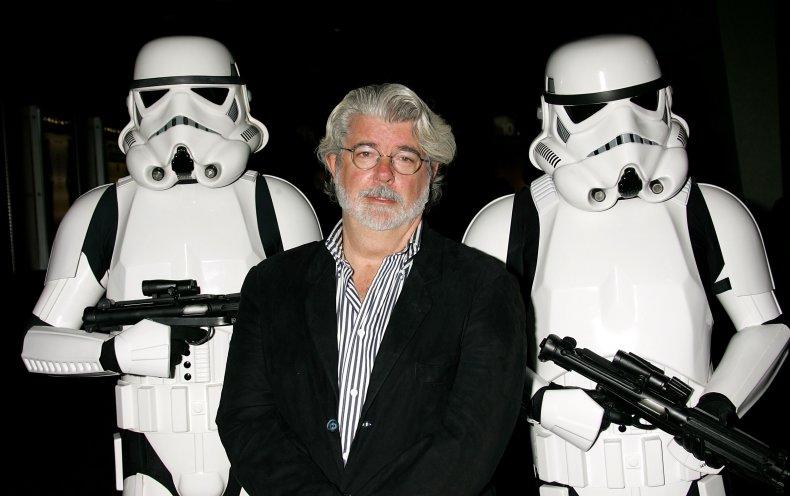 George Lucas at Star Wars screening