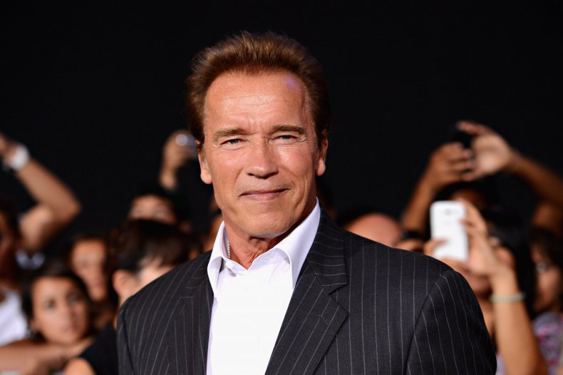Arnold Schwarzenegger at Expendables 2 premiere
