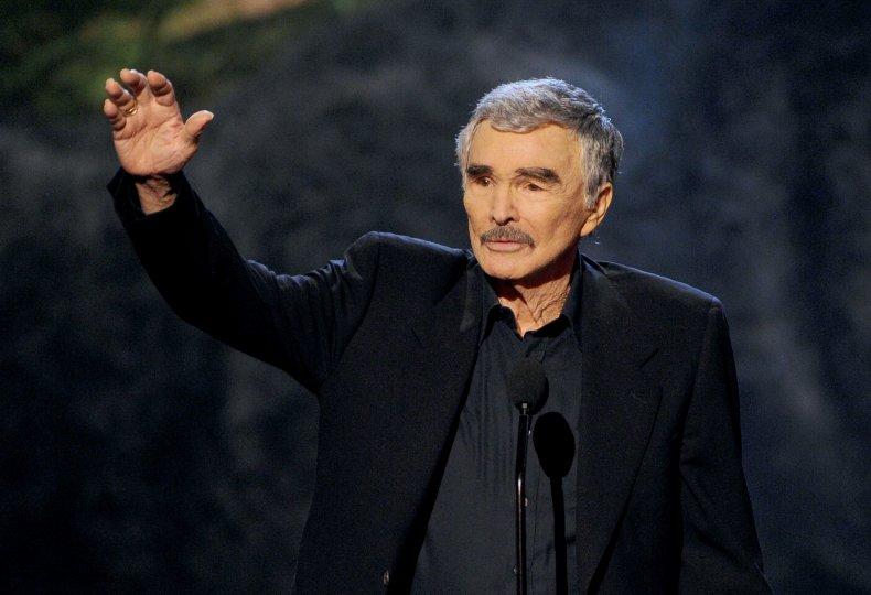 Burt Reynolds at Spike TV event