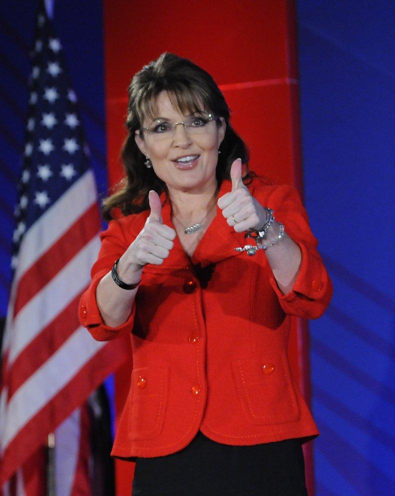 Sarah Palin at Southern Republican leadership conference
