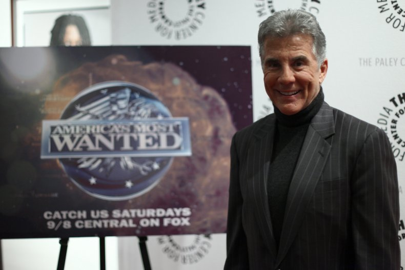 John Walsh at America's Most Wanted event