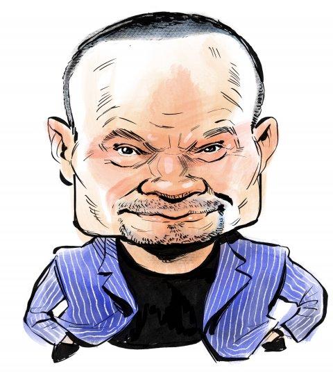Dan Bongino caricature