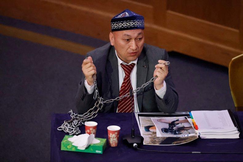 Testimony of a Uyghur witness
