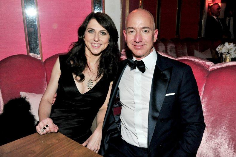 Mackenzie Scott and Jeff Bezos