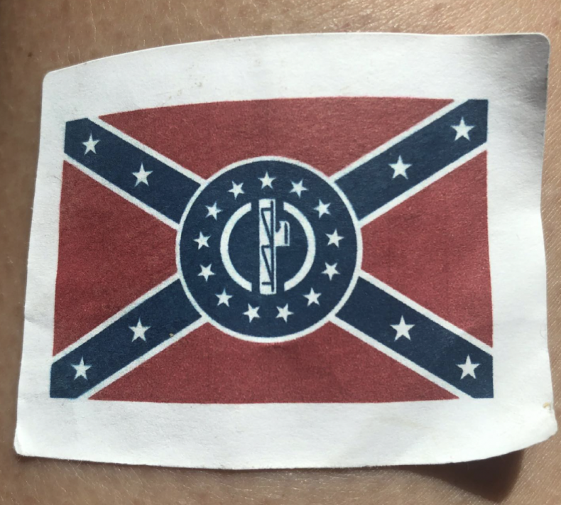 White Nationalist Hate Group Minority Businesses Stickers