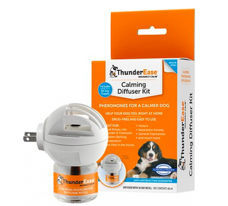 thunderease calming diffuser kit