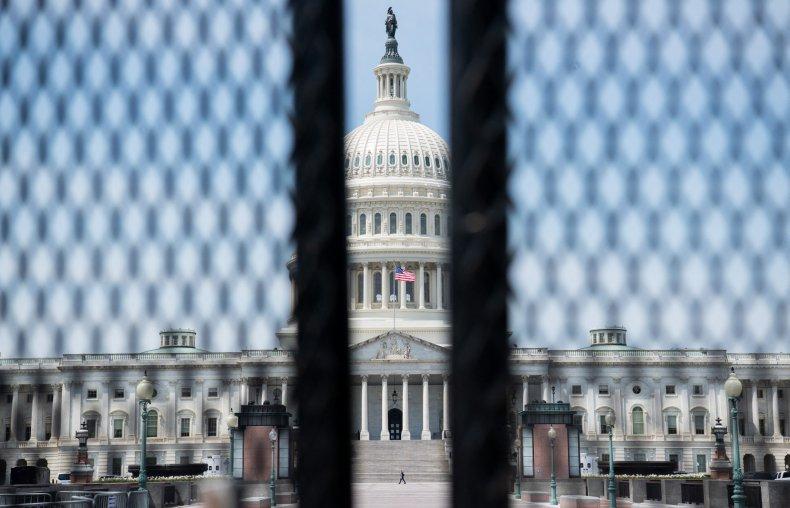 Fencing Surrounding Capitol