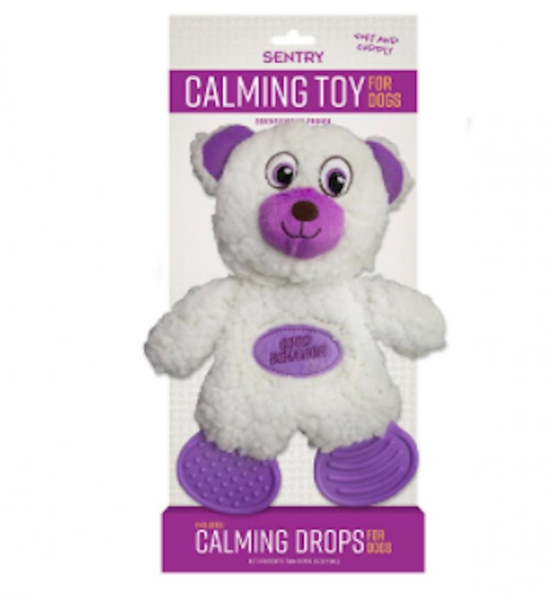 sentry calming toy