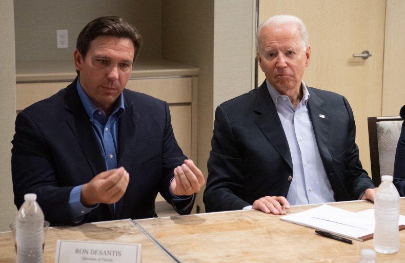 Biden, DeSantis praised for unifying condo collapse