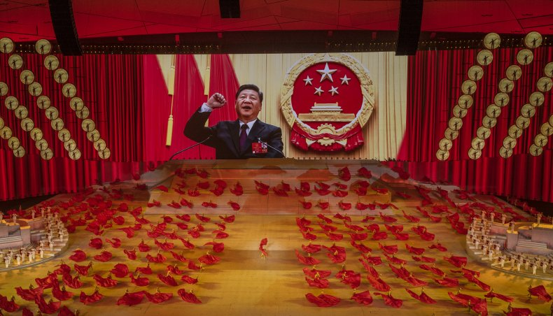 China's Xi Jinping Oversees Communist Party Celebrations
