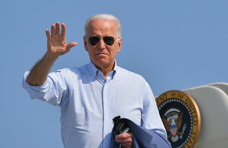 Joe Biden on Air Force One