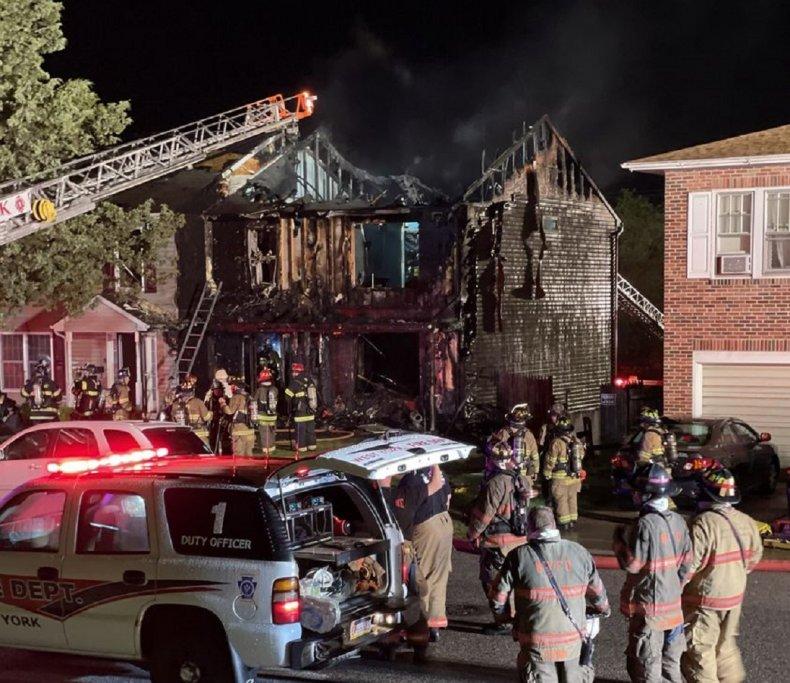 west york borough house fire