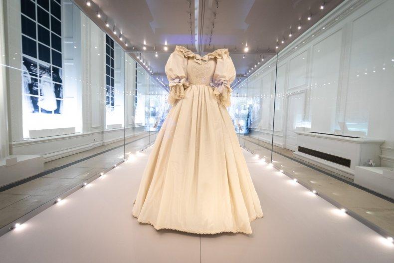 Princess Diana's Wedding Dress Exhibition