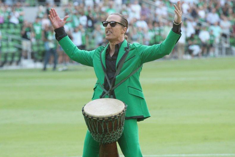 Texas native Matthew McConaughey