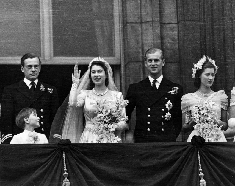 Queen Elizabeth II Wedding Day