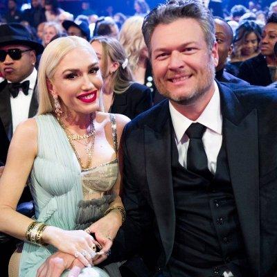 Gwen Stefani and Blake Shelton at Grammys