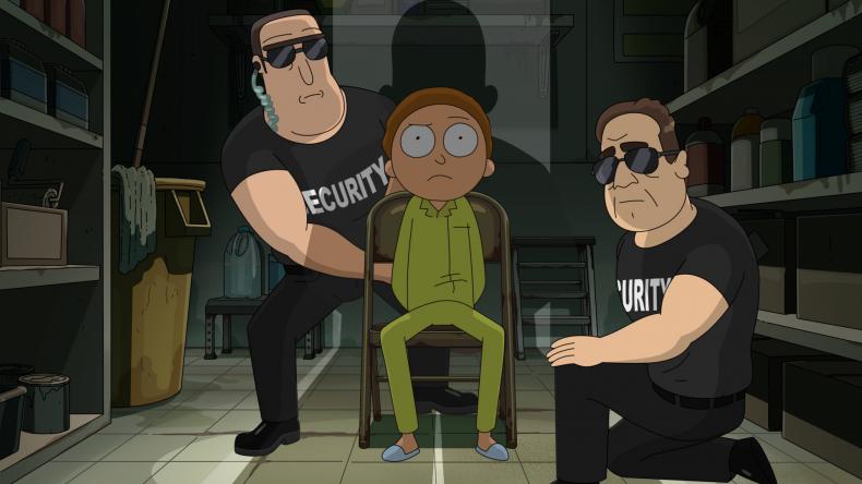 Morty held captive