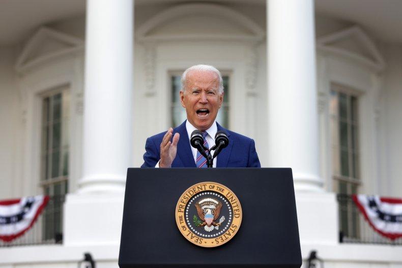 president biden at white house on July4
