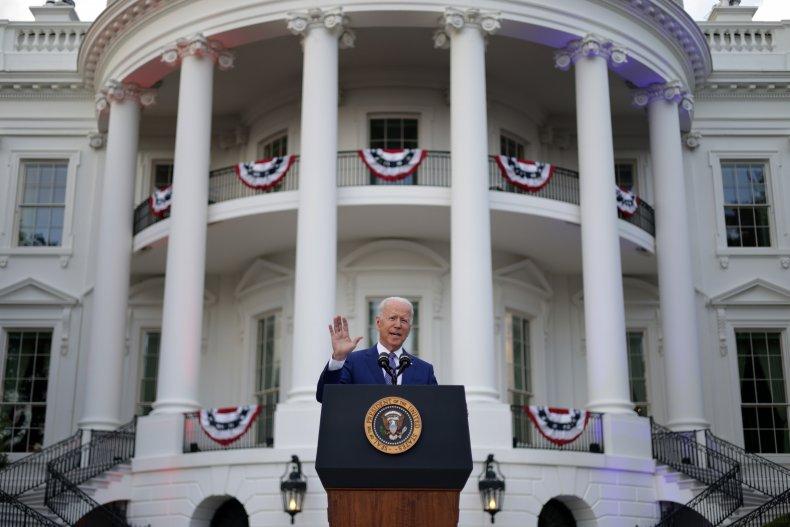 President Biden July 4