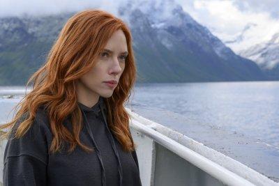 Scarlett Johansson on a boat