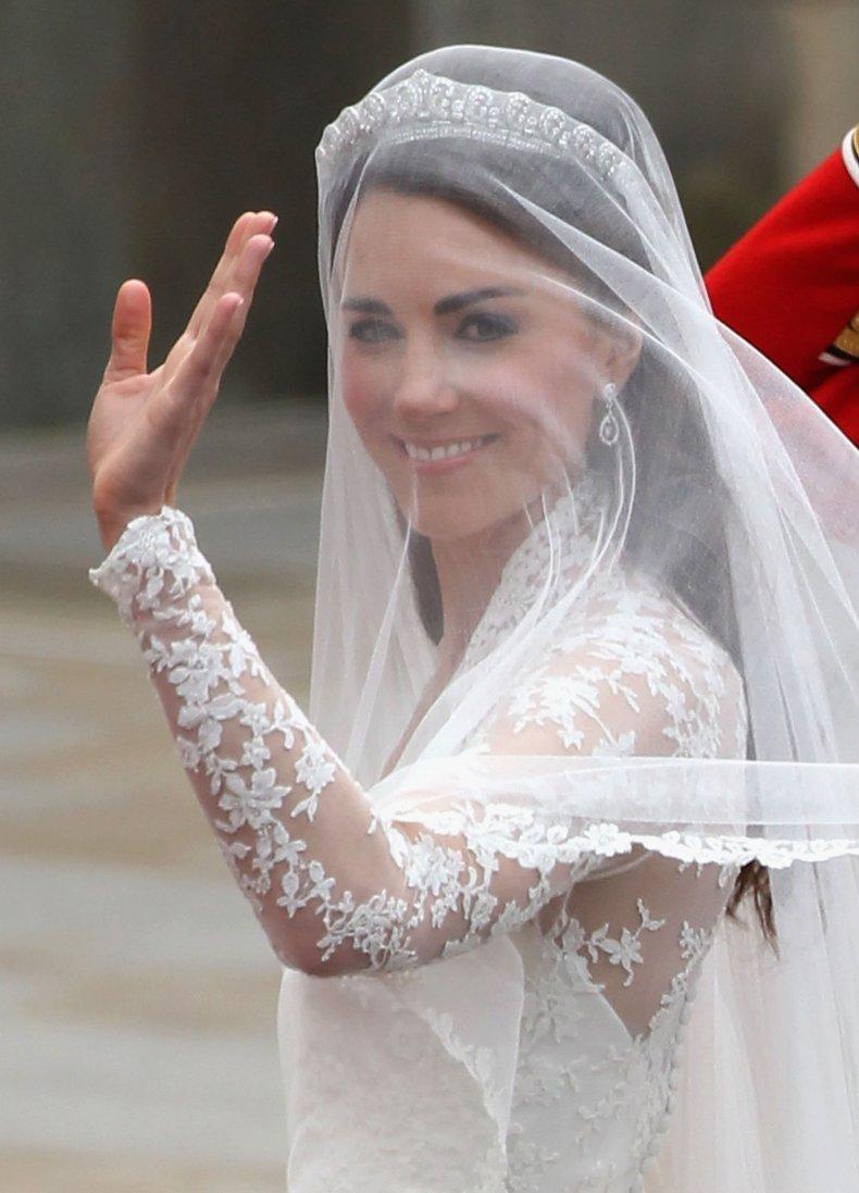 Kate Middleton's Wedding Veil