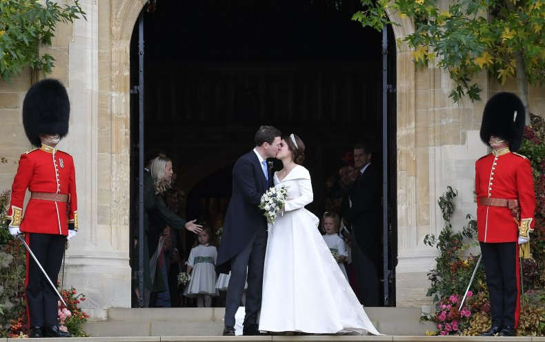 Princess Eugenie in her Wedding Dress