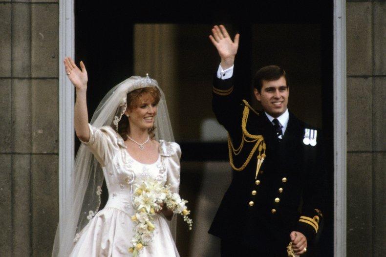 Sarah Ferguson's Wedding Dress