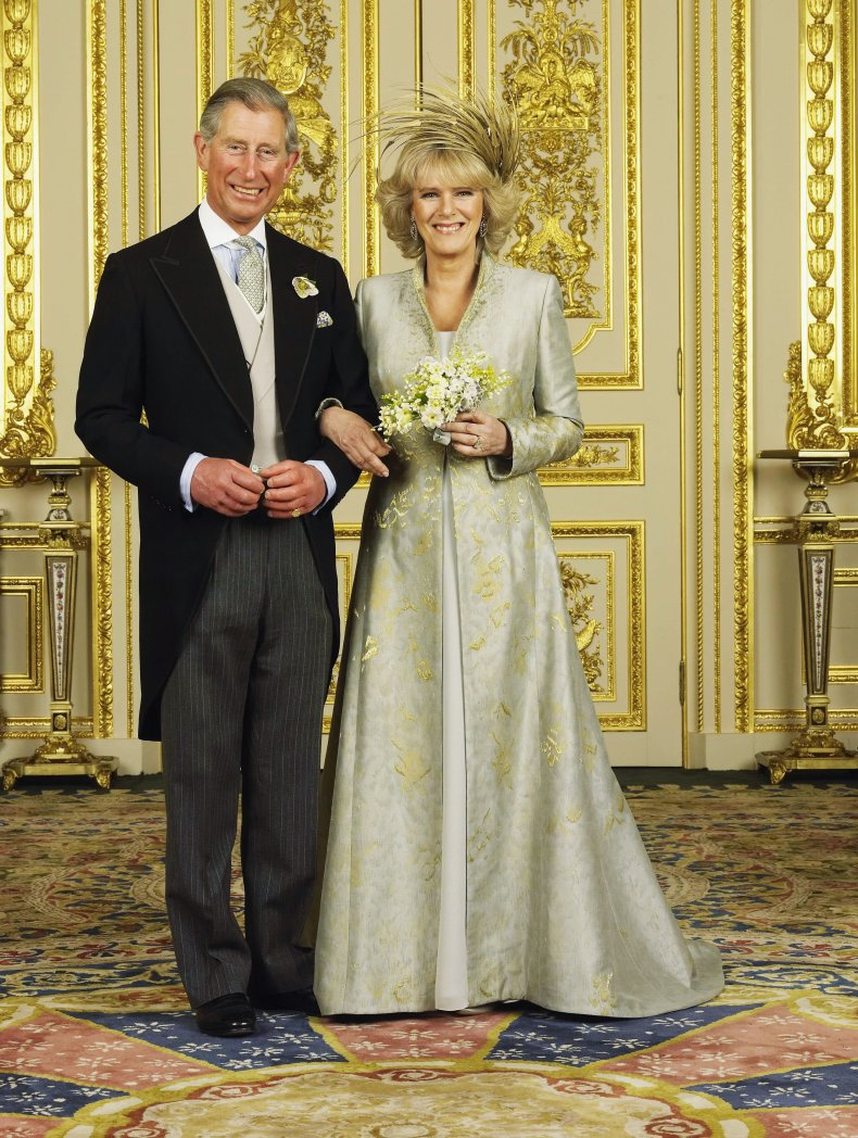 Camilla, Duchess of Cornwall's Wedding Dress