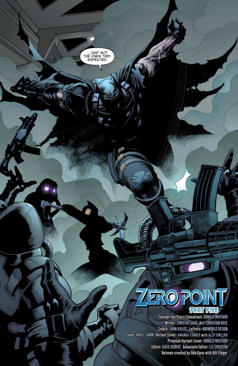 Batman Fights IO Guards