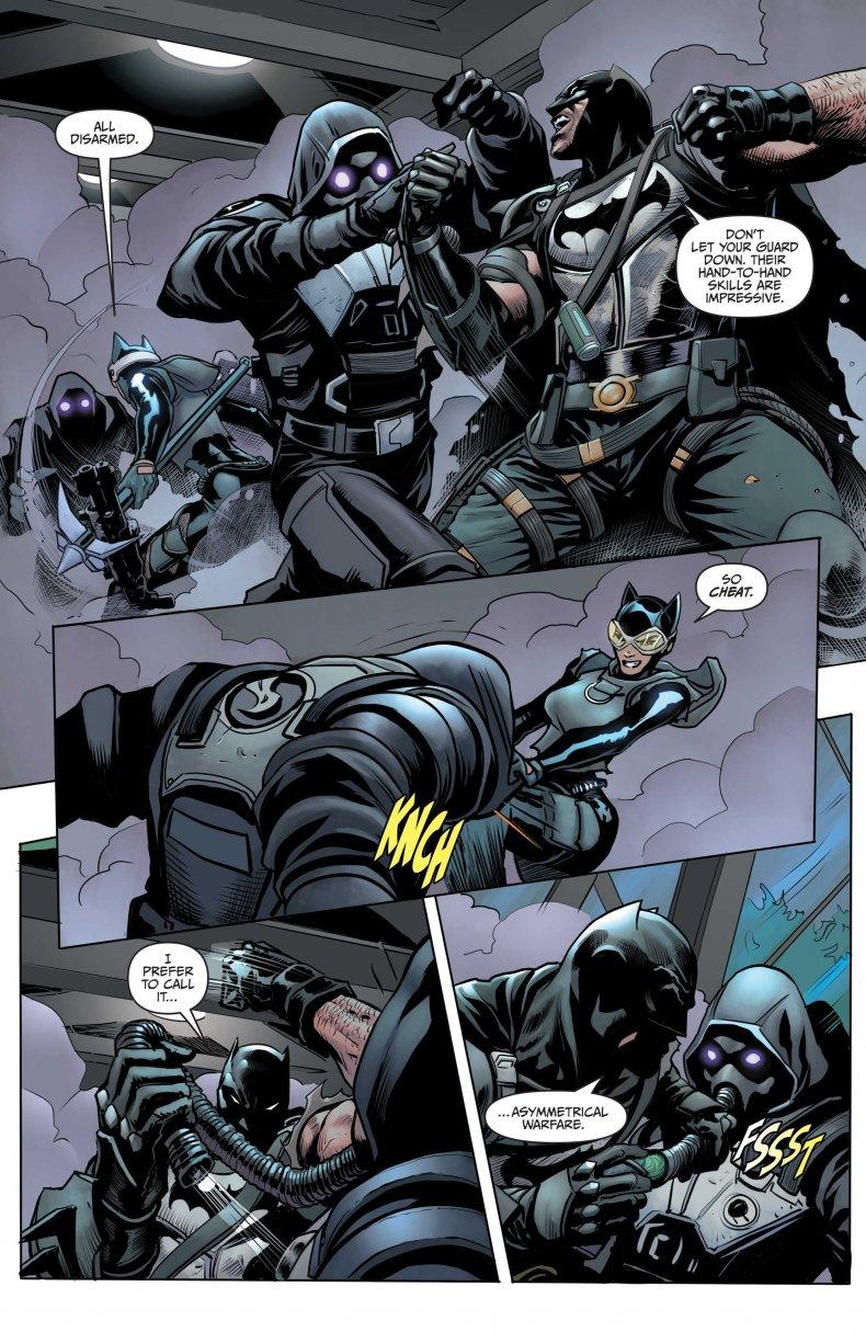 Batman Unmasks an IO Guard
