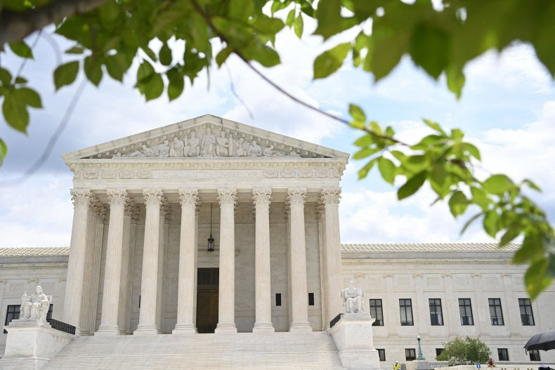 The U.S. Supreme Court is seen in