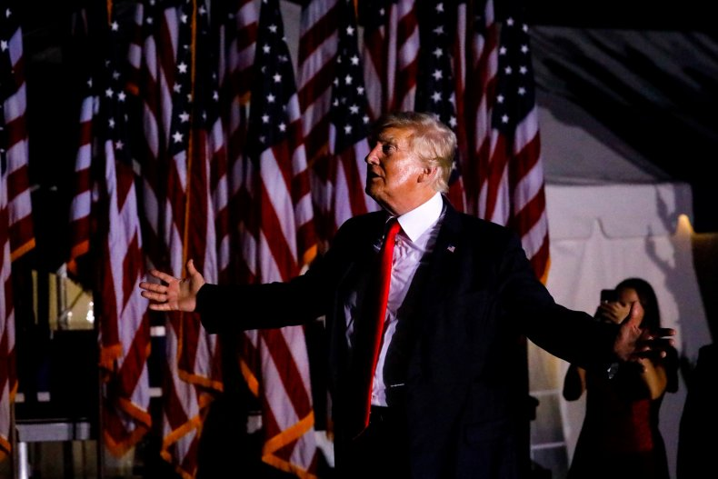 Donald Trump attacks RINOs in GOP