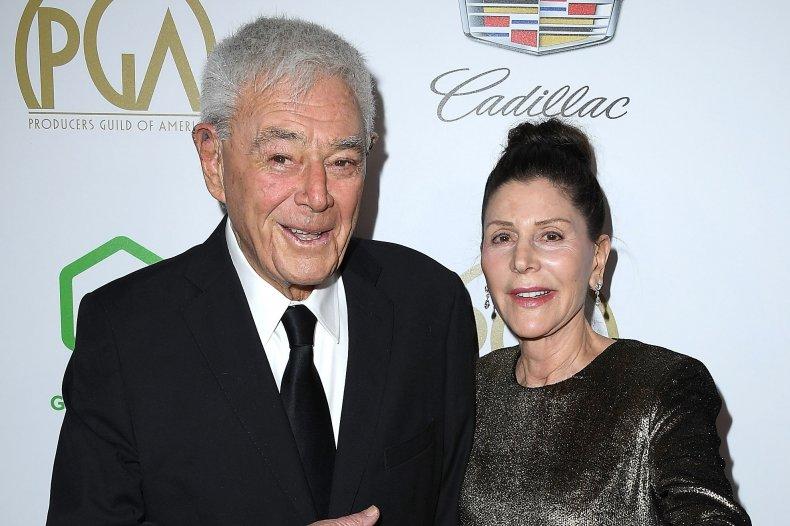 Richard Donner and wife Lauren Shuler Donner