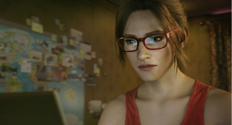 Claire Redfield in Resident Evil: Infinite Darkness