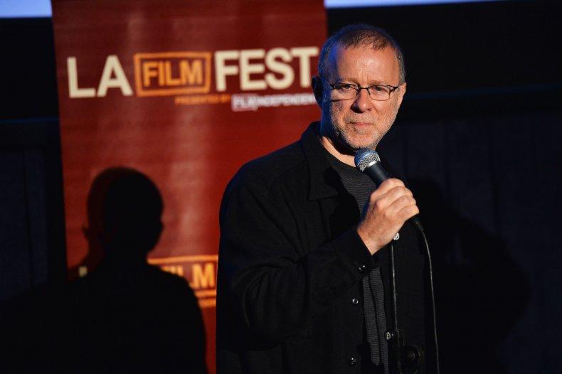 Filmmaker Alan Berliner speaks onstage at the