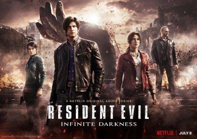 Key Art for Resident Evil Infinite Darkness
